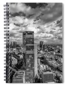 Tel Aviv High And Above Spiral Notebook