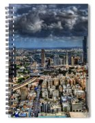 Tel Aviv Love Spiral Notebook