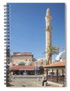 Tel Aviv Old Town Street Spiral Notebook