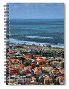 Tel Aviv Spring Time Spiral Notebook