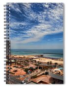 Tel Aviv Summer Time Spiral Notebook