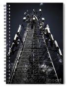 Telecommunications Tower Spiral Notebook