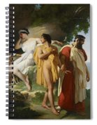 Telemachus And Eucharis Spiral Notebook