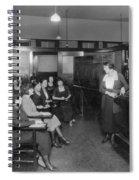 Telephone Exchange, 1915 Spiral Notebook