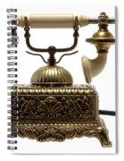 Telephone Spiral Notebook