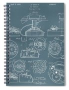Telephone Patent Spiral Notebook