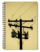 Telephone Pole 1 Spiral Notebook