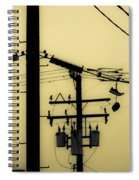 Telephone Pole And Sneakers 5 Spiral Notebook
