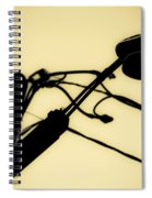 Telephone Pole And Sneakers 6 Spiral Notebook