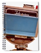 Television Studio Camera Hdr Spiral Notebook