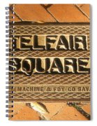 Telfair Square In Savannah Spiral Notebook