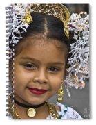 Tembleque Headdress Spiral Notebook