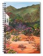 Temecula Heritage Rose Garden Spiral Notebook