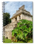 Temple And Foliage Spiral Notebook