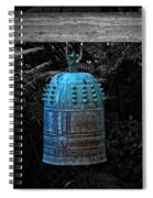 Temple Bell - Buddhist Photography By William Patrick And Sharon Cummings  Spiral Notebook