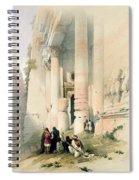 Temple Called El Khasne Spiral Notebook