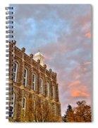 Temple High Spiral Notebook