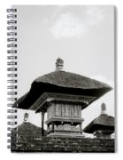 Temple In Ubud Spiral Notebook
