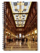 Temple Of Commerse Spiral Notebook