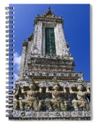 Temple Of Dawn Tower Spiral Notebook