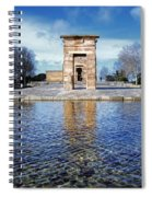 Temple Of Debod Spiral Notebook