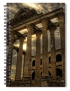 Temple Of Diana Spiral Notebook