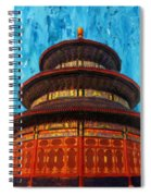 Temple Of Heaven Spiral Notebook