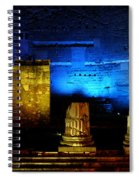 Temple Of Mars Ultor Spiral Notebook