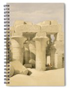 Temple Of Sobek And Haroeris At Kom Ombo Spiral Notebook
