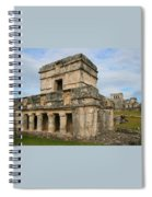 Temple Of The Frescoes Spiral Notebook