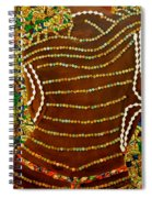 Temple Of The Goddess Eye Vol 2 Spiral Notebook
