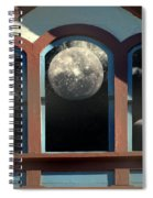 Temple Of The Goddess Spiral Notebook