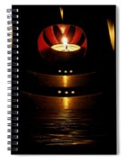 Temple Of The Light Spiral Notebook