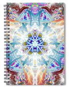 Temple Of The Lion Spiral Notebook