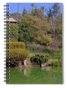 Temple On The Lake Spiral Notebook