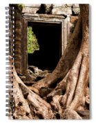 Temple Ruins 01 Spiral Notebook