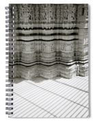Temple Serenity Spiral Notebook