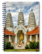 Temple Towers Spiral Notebook