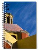 Templo De San Roque, Mexico Spiral Notebook