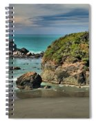 Temporary Island Spiral Notebook