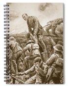 Temporary Major S.w. Loudoun-shand Spiral Notebook