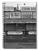 Temptations At Hampton Beach Spiral Notebook