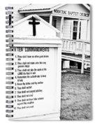 Ten Commandments Spiral Notebook