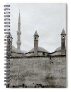 Ten Minarets Spiral Notebook