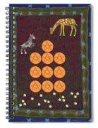 Ten Of Pentacles Spiral Notebook