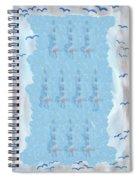 Ten Of Swords Spiral Notebook