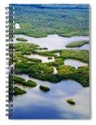 Ten Thousand Islands 2  Spiral Notebook
