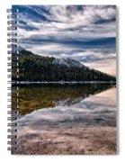 Tenaya Lake Reflections Spiral Notebook