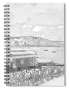 Tenby Old Lifeboat Station Spiral Notebook