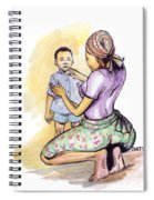 Tender Mother Spiral Notebook